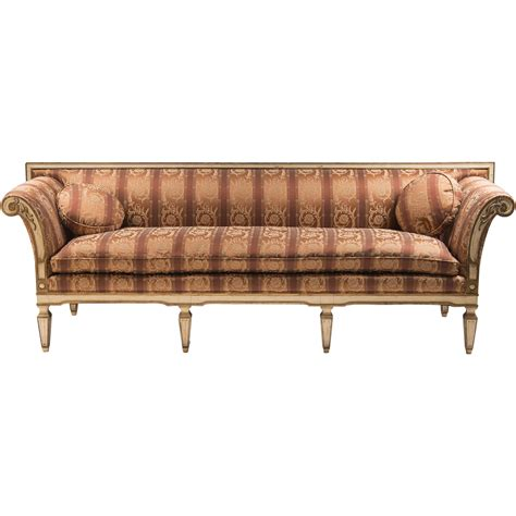 neoclassical sofa late 19th c swedish gustavian neoclassical sofa