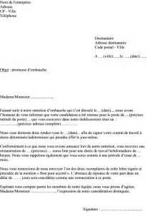 Exemple De Lettre Bon Pour Accord Exemple De Lettre De Promesse D Embauche Pour Salari 233 D
