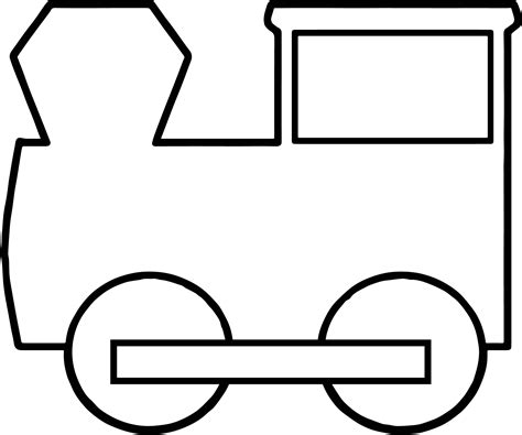 Basic Train Coloring Pages Wecoloringpage Basic Colouring Pages