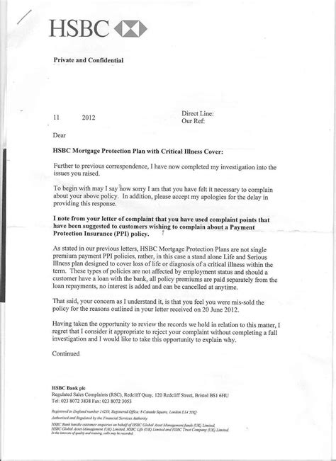Mortgage Ppi Claim Letter Template My Rome Org 522 Connection Timed Out