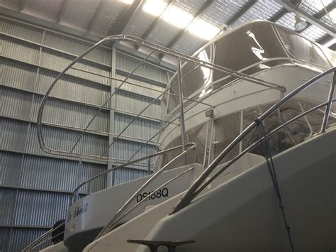 stainless steel awnings marine awnings gold coast marine stainless steel fabrication