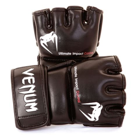 Venum Impact Mmacombat Glove Black venum impact mma gloves fighters europe