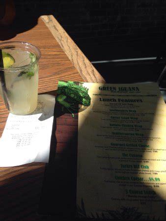 Iguana Bar And Grill by Green Iguana Bar And Grill Ta Historic Ybor Menu