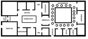 California Bungalow Floor Plans Floor Plan Of A Roman House House Of Samples