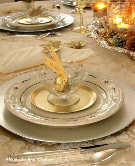 mixing gold and silver home decor mixing gold and silver for thanksgiving tablescaping
