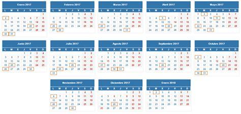 Calendario Tributario 2017 Iva Calendario Fiscal 2017 Para Aut 243 Nomos Y Pymes Infoaut 243 Nomos