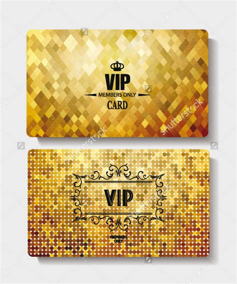 Vip Business Card Template by 23 Vip Card Templates Free Premium
