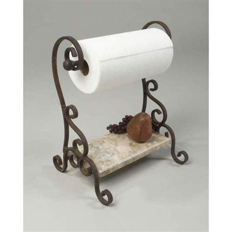 Decorative Paper Towel Holder 15683076 rust limestone