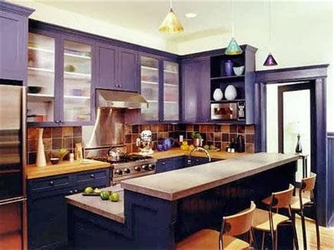 purple cabinets kitchen chic purple kitchen cabinets panda s house