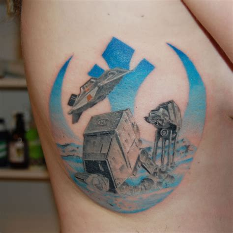 best star wars tattoos 15 wars themed tattoos scene360