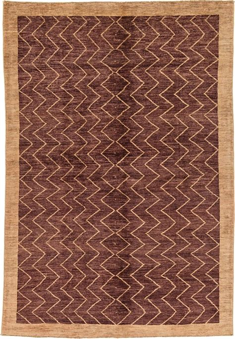 Modern Rug Uk Brown 5 5 X 8 Modern Ziegler Rug Rugs Irugs Uk