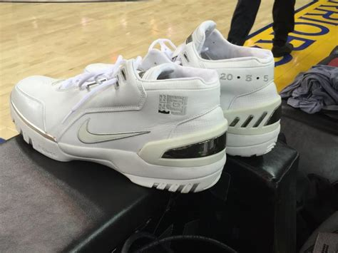nba new year shoes lebron brought his rookie sneakers to the nba finals