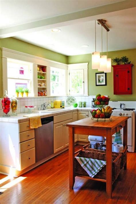 kitchen table ideas for small kitchens how to paint a small kitchen in a light color interior