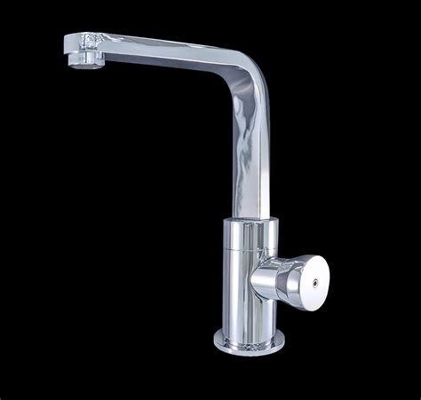 valencia chrome finish modern bathroom faucet