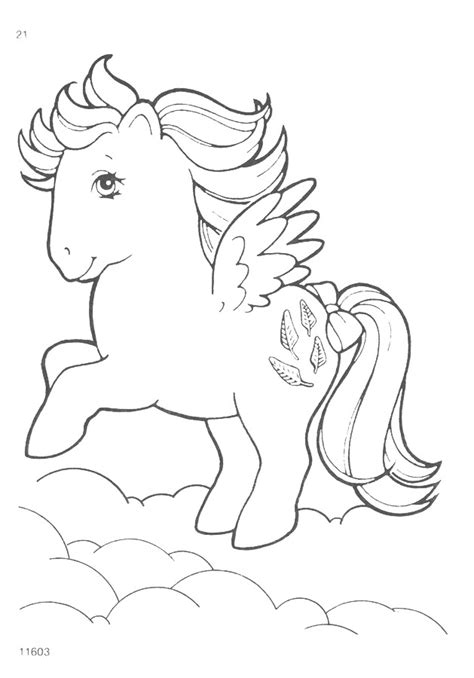 vintage my little pony coloring pages my little pony g1 coloring pages natasja doe flickr