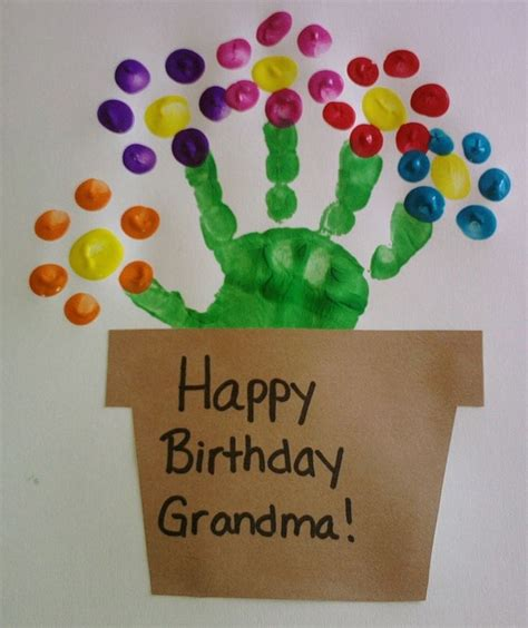 birthday crafts for teaching on learn and