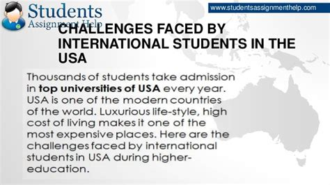 Financial Aid For International Students In Usa For Mba by Challenges Faced By International Students In The Usa