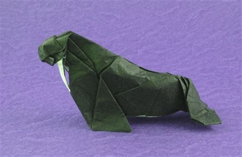Walrus Origami - origami seals and sea lions page 2 of 2 gilad s