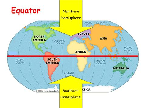 world map  hemispheres  equator  travel