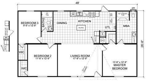 redman mobile home floor plans redman mobile home floor plans