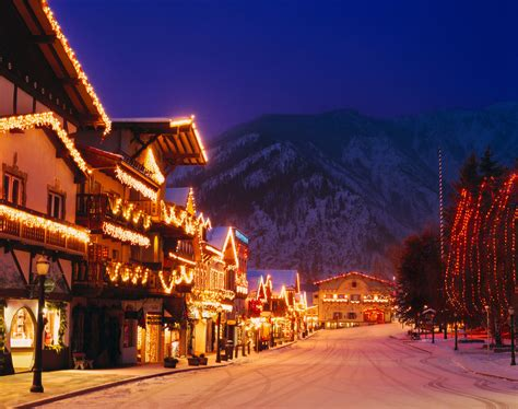 usa towns 15 american towns that host the best christmas