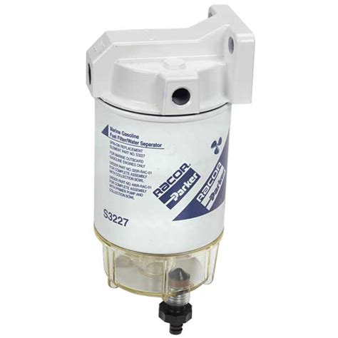 fuel water filters for boats racor 10 micron spin on series fuel filter water separator