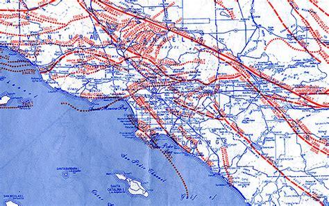 louisiana fault map los angeles fault map