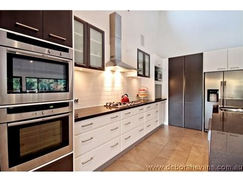 Modern Galley Kitchen Ideas Modern Galley Kitchen Design Using Granite Kitchen Photo 306073