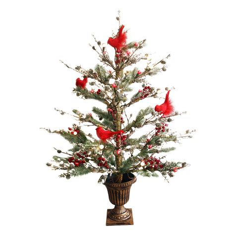 stop and shop prelit christmas trees shop ge 3 ft pre lit twig brown artificial tree with white incandescent lights at