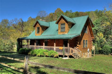 cabin city pet friendly bryson city nc vacation rental for families