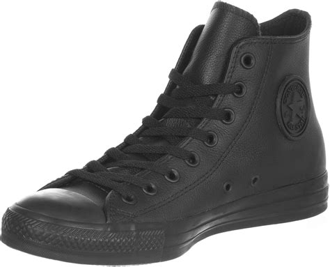 All Leather converse all leather shoes black