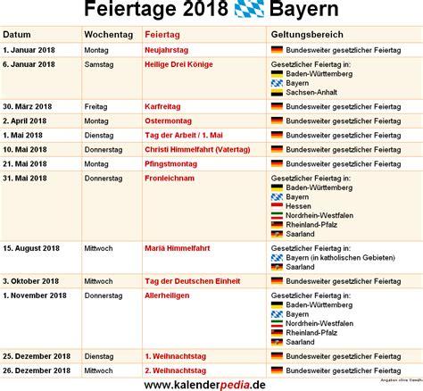 Feiertage Bayern 2018 2019 2020 Mit Druckvorlagen