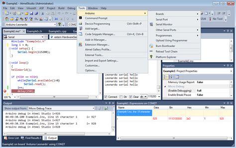 visual studio ide tutorial arduino and cygwin ide for atmel studio foxteam uav clan