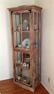 Curio Cabinet Pictures Cost Plus World Market Curio Cabinet Used As China Hutch