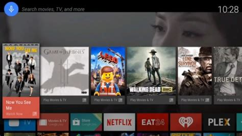 android tv news android tv platform announced at i o