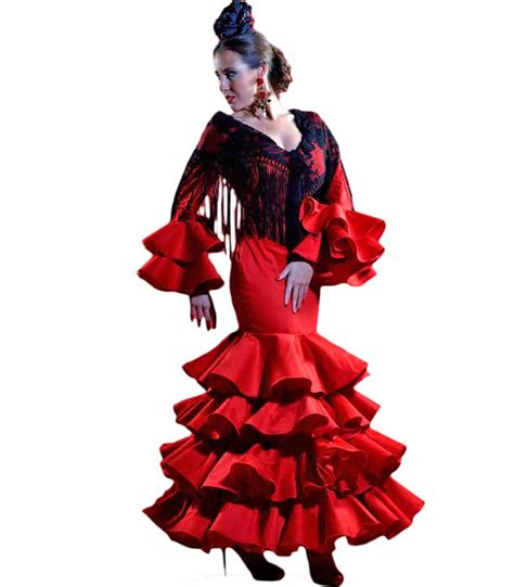 vestido gitana corto vestido de gitana serrana trajes de flamenca 2018 el rocio