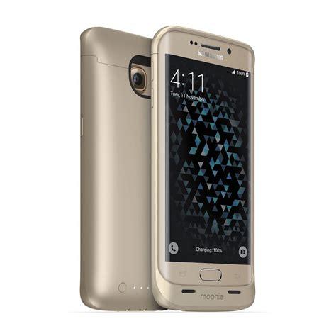Power Battery Samsung S6 Edge Plus Flip 5800 Mah Berkualitas mophie juice pack battery for galaxy s6 edge gold 3257