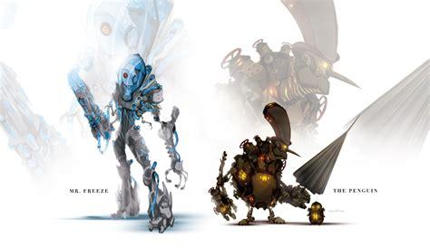 wallpaper batman robot fashion and action gotham gears batman mecha redesign