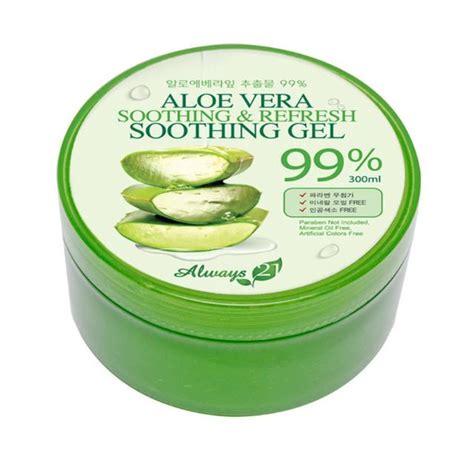 Alovea Blouse Wanita always 21 soothing refresh aloe vera 99 soothing gel 2 x 300ml tubs from korea kesehatan