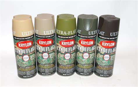 spray paint type how to do krylon multi type camouflage paint