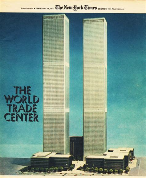 Nineteen Seventy Something by Nycnostalgia Wtc Ad From The New York Times