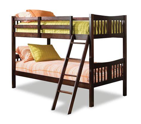 Storkcraft Caribou Bunk Bed Espresso Espresso Bed
