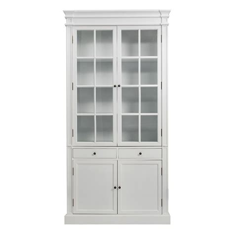 glass door bookcase cabinet provincial furniture glass door bookcase cabinet