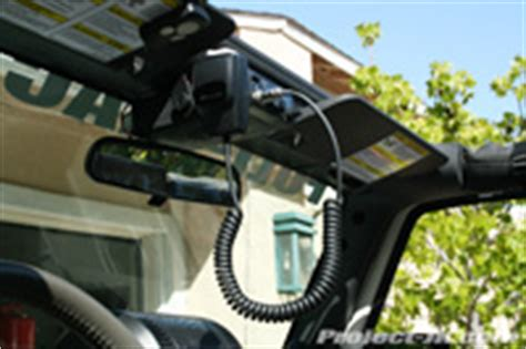 Jeep Cb Radio Cb Radio Installation 2013 Jeep Jk Autos Weblog