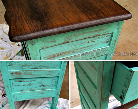 refinishing woodwork recycled dresser makeover spoonful of imagination