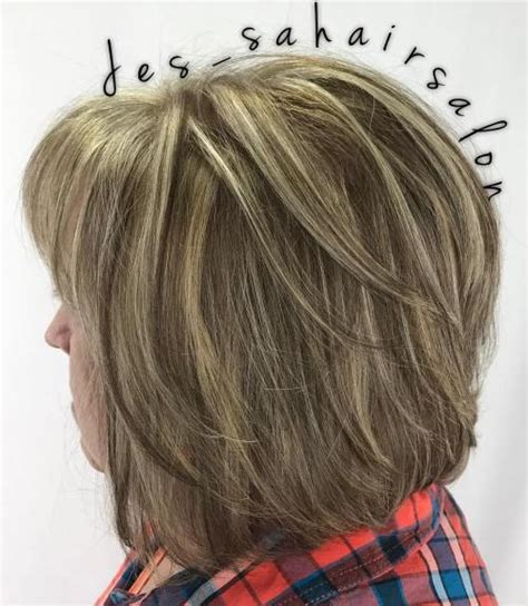 layered bob women over 50 80 respectable yet modern hairstyles for women over 50