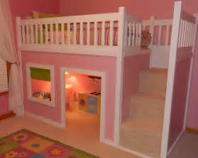 Target Curtains Kids Ana White Playhouse Loft Bed With Stairs Diy Projects