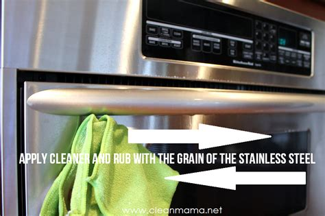 how to polish stainless steel how to clean stainless steel appliances clean mama