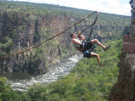 gorge swing livingstone zambia photo - Gorge Swing Zambia