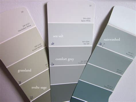 paint color sherwin williams sea sherwin williams rainwashed and sea salt